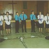 "Buzz Randall's group ""Divine Direction"" did a concert.  Buzz in middle and son Christopher at far right."