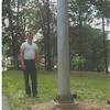 Rod installed another light pole the week Carol was our Health Officer.