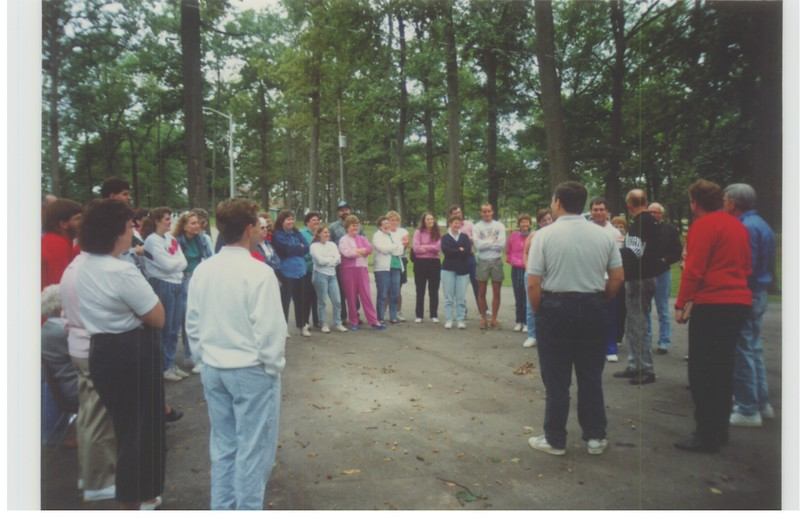 A special weekend of activities to celebrate the 25th anniversary of Miracle Camp.  First, a tour of camp.  Many attendees haven't been here in a long time.