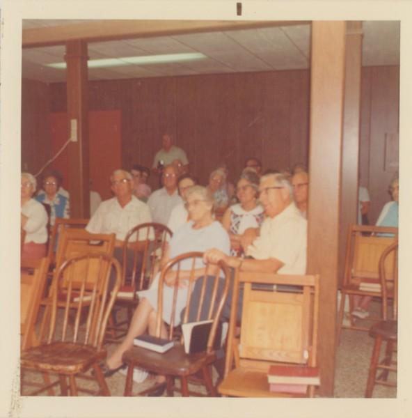 Chapel Hour.  Pastor Nussbaum spoke on Ephesians.