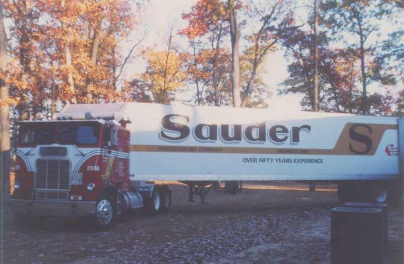 Once again, another furniture delivery from Sauder.