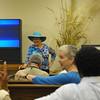 Sudy Leavy at Wister Presentation at Hofwyl Plantaton 07/11/09