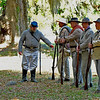 Civil War Re-enactors at Hofwyl-Broadfield Plantation 04-16-10