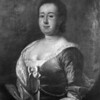 B/W photo of color portrait of Mrs. Brailsford, wife of Col. Brailsford, parents of William Brailsford of Hofwyl Plantation