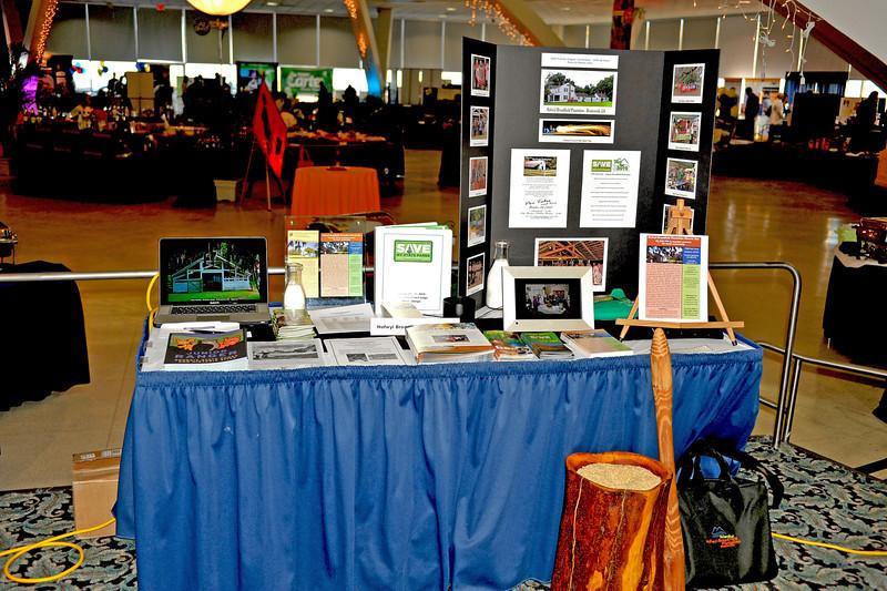 Friends of Hofwyl-Broadfield Plantation at Brunswick, GA Chamber of Commerce Trade Fair on Jekyl Island, GA 02-18-10