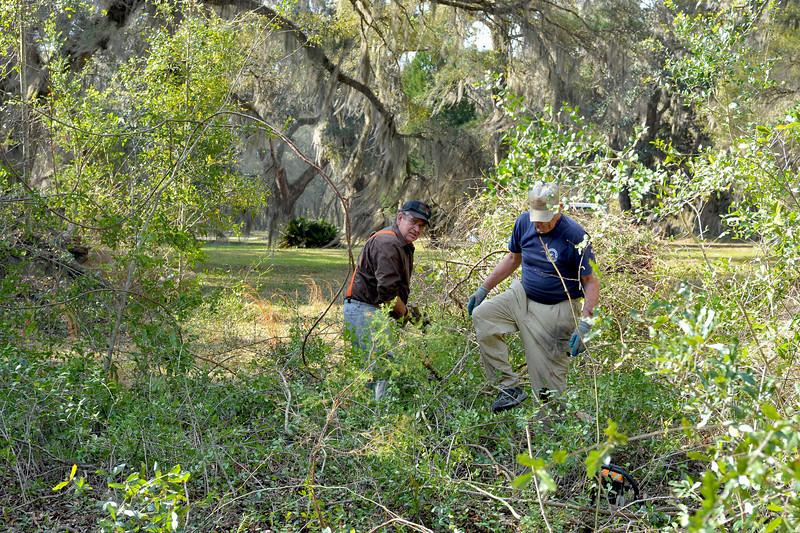 Georgia State Parks - Hofwyl-Broadfield Plantation - Historic Sites Hosts - Volunteers 03-23-11<br /> John Rumble and John Morgan
