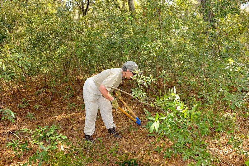 Georgia State Parks - Hofwyl-Broadfield Plantation - Historic Sites Hosts - Volunteers 03-23-11<br /> Rockett Morgan