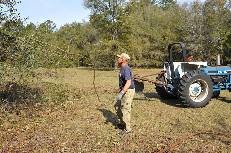 Georgia State Parks - Hofwyl-Broadfield Plantation - Historic Sites Hosts - Volunteers 03-23-11<br /> John Morgan and John Rumble