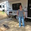 Georgia State Parks - Hofwyl-Broadfield Plantation - Historic Sites Hosts - Volunteers 03-23-11<br /> Volunteer Hosts Campground - Marie Michaud and Bear