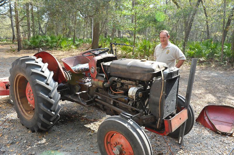 Georgia State Parks - Hofwyl-Broadfield Plantation - Historic Sites Hosts - Volunteers 03-23-11<br /> Bill Giles