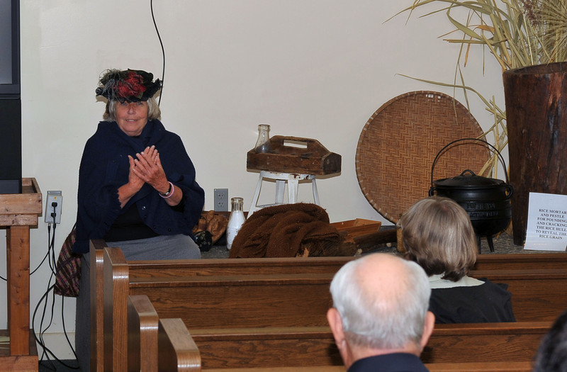 Celebrate Hofwyl Day 11-21-09 Presentation celebrating 30 years of State ownership and Ophelia Dent's 123rd Birthday
