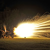 Hofwyl-Broadfield Christmas 12-05-09 - Night time Cannon Firing by Civil War Re-enactors