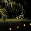 Hofwyl-Broadfield Christmas 12-05-09 - Night time grounds by Civil War Re-enactors