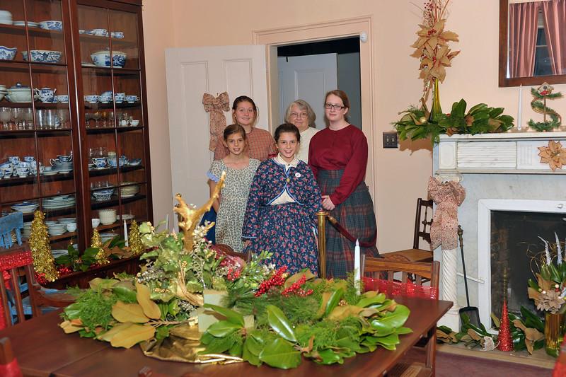 Hofwyl-Broadfield Plantation Christmas Celebration 2014