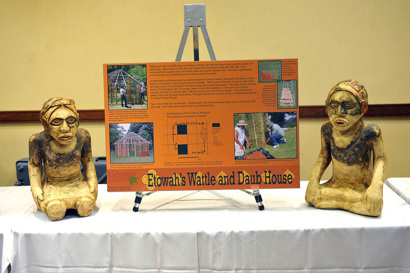 Friends of GA State Parks & Historic Sites Conference 2010 Unicoi<br /> Displays from Friends Chapters around the State<br /> ETOWAH