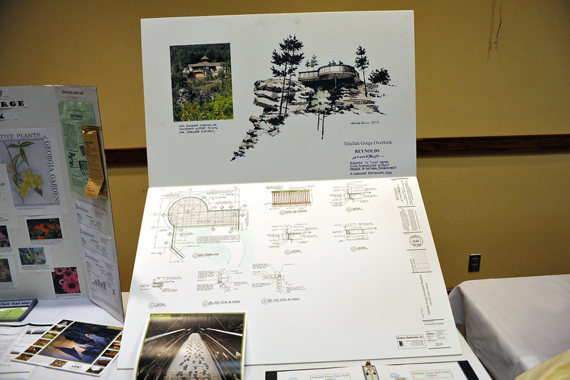 Friends of GA State Parks & Historic Sites Conference 2010 Unicoi<br /> Displays from Friends Chapters around the State<br /> TALULLAH GORGE