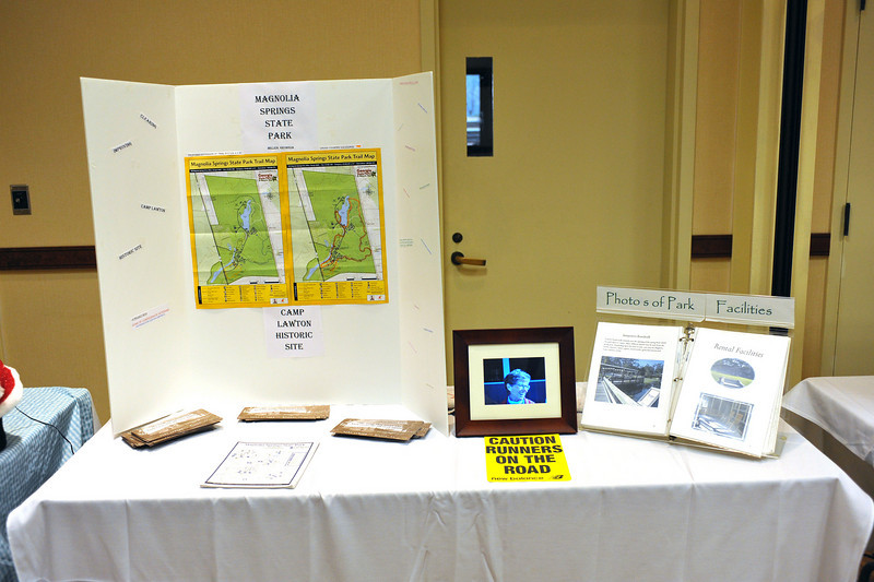 Friends of GA State Parks & Historic Sites Conference 2010 Unicoi<br /> Displays from Friends Chapters around the State<br /> MAGNOLIA SPRINGS