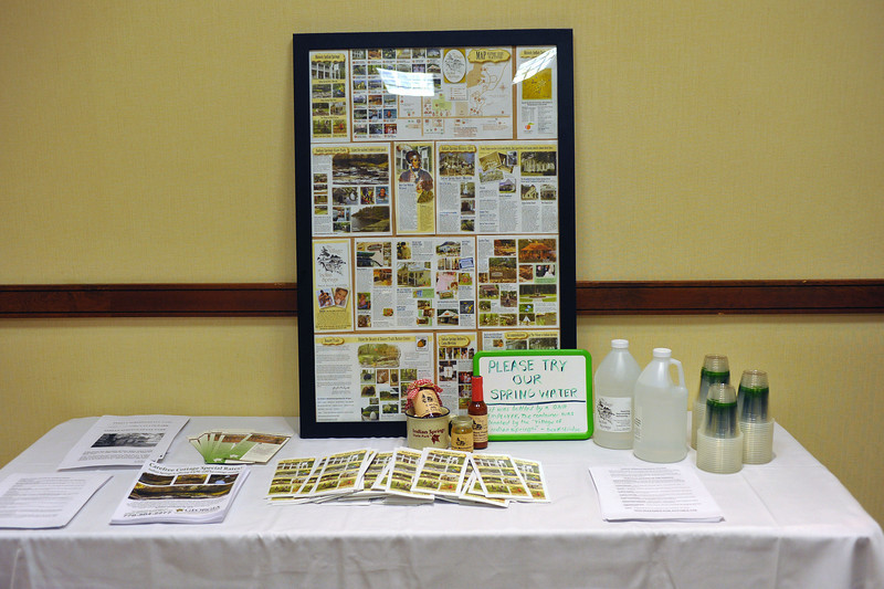 Friends of GA State Parks & Historic Sites Conference 2010 Unicoi<br /> Displays from Friends Chapters around the State<br /> INDIAN SPRINGS