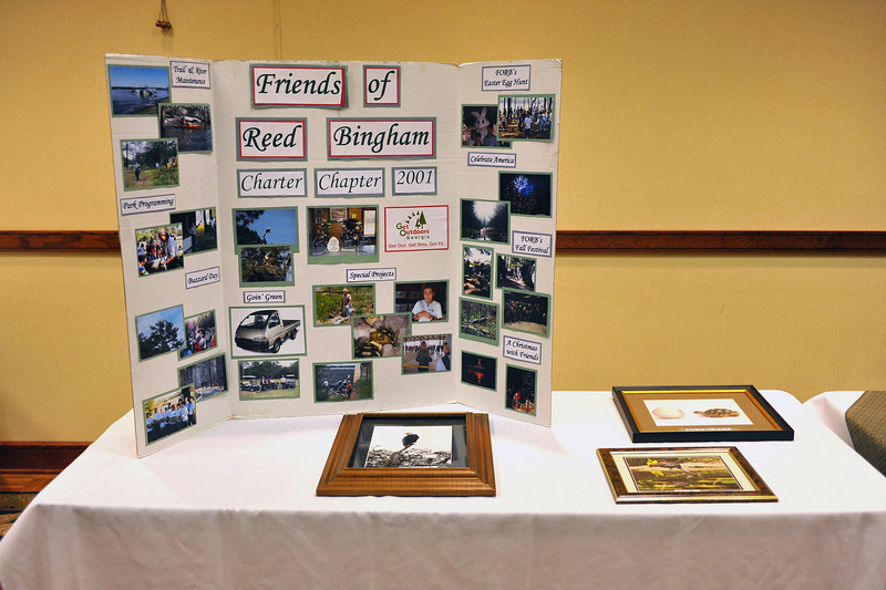 Friends of GA State Parks & Historic Sites Conference 2010 Unicoi<br /> Displays from Friends Chapters around the State<br /> REED BINGHAM