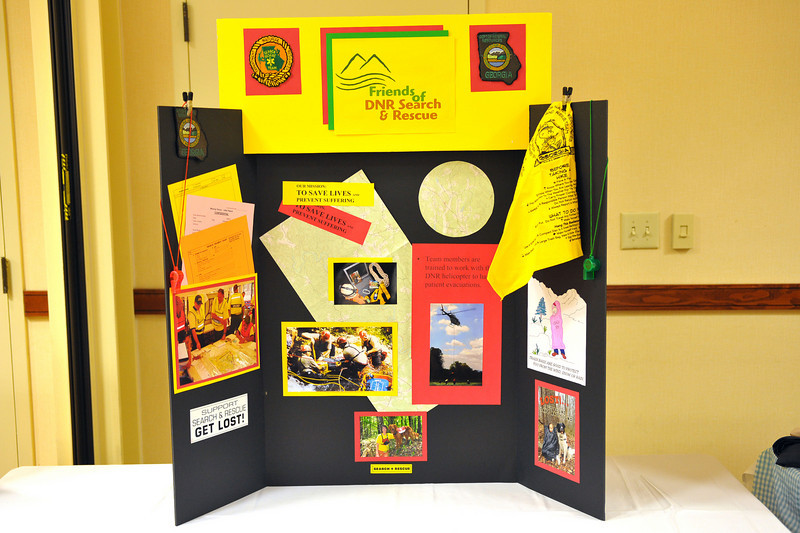 Friends of GA State Parks & Historic Sites Conference 2010 Unicoi<br /> Displays from Friends Chapters around the State<br /> DNR SEARCH & RECOVERY