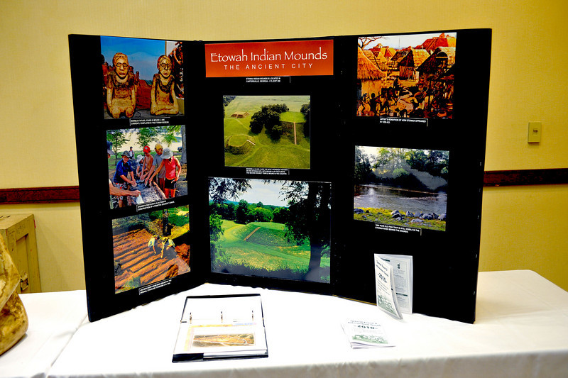 Friends of GA State Parks & Historic Sites Conference 2010 Unicoi<br /> Displays from Friends Chapters around the State<br /> ETOWAH INDIAN MOUNDS