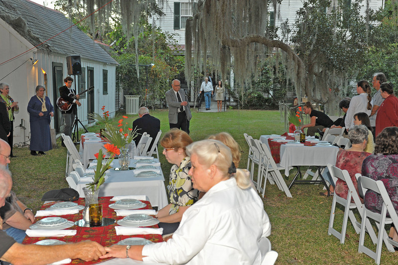 Harvest Evening at Hofwyl sponsored by the Georgia Conservancy, the Altamaha Riverkeepers, and the Friends of Hofwyl-Broadfield Plantation 10-23-10