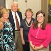 L to R: Gail Johnson, Bob Johnson, Faye Cowart, Noelle Cowert