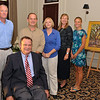L to R: Tommy Turk, Andy Fleming, Bill Giles, Stephanie Giles, Marine Fleming, Katy Fleming, Painting by Albert Fendig