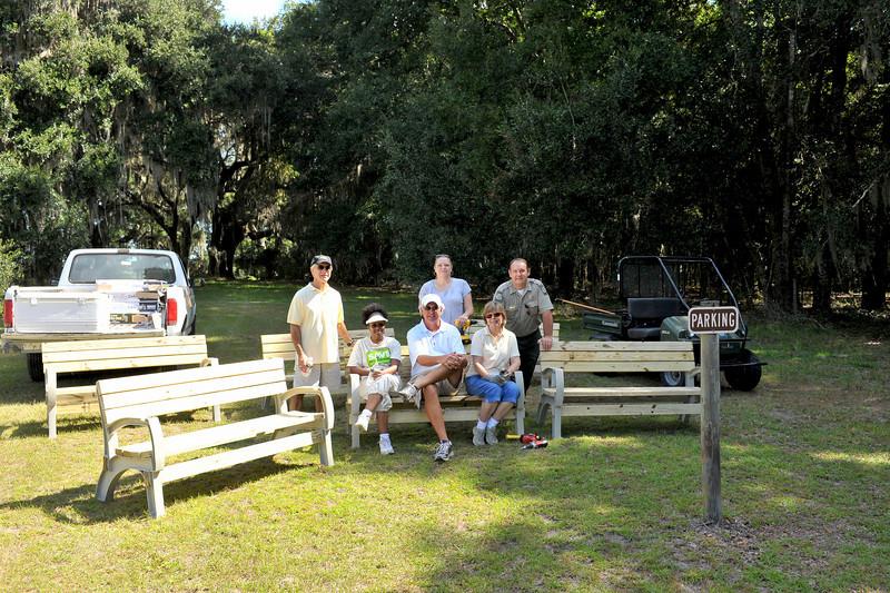 Free Park Day at Hofwyl-Braodfield Plantation 09-25-10 Friends of Hofwyl Volunteers make Hofwyl a better place!