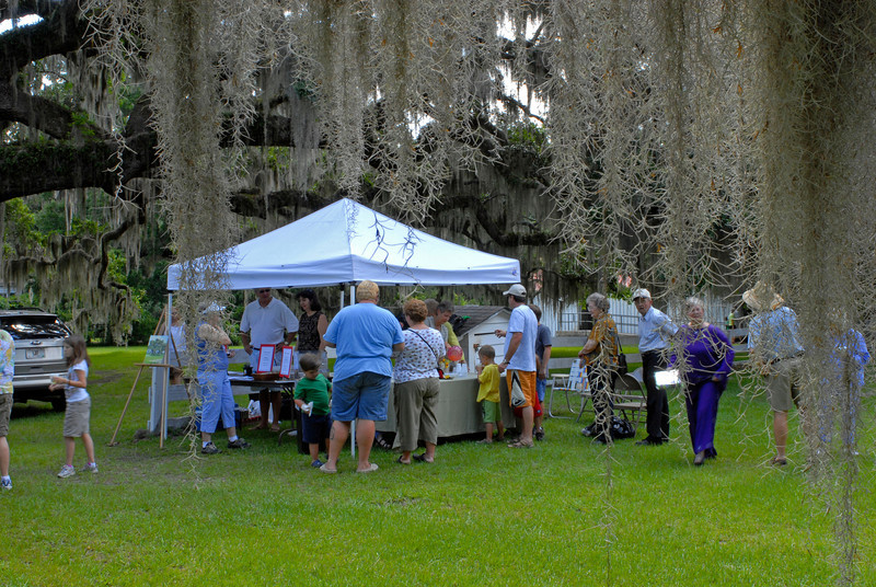 Hofwyl Plantation - Brunswick, Georgia - Go Georgia Day - Friends of Hofwyl Tent