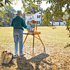 Hofwyl Plein Air Annual Event Honoring Albert Fendig's Service to Hofwyl-Broadfield Plantation 03-2013