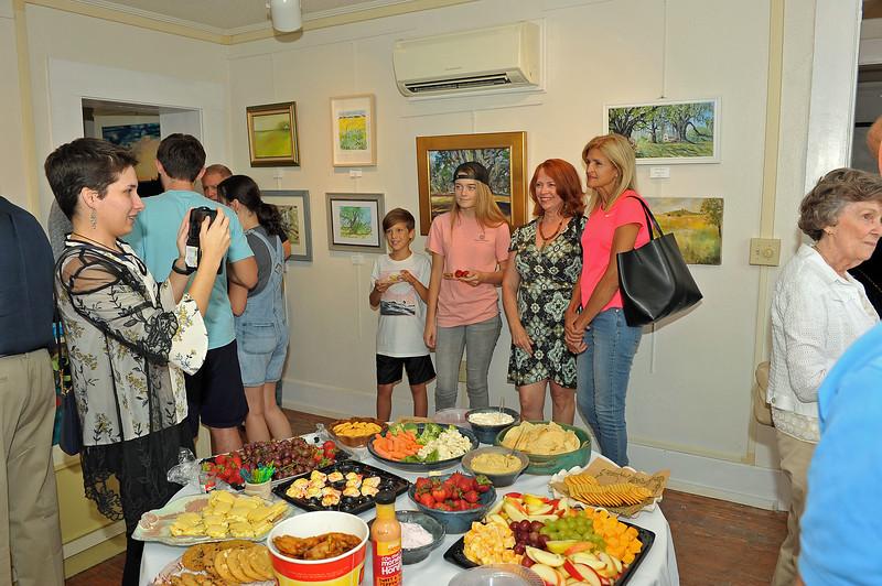 Hofwyl Plein Air Reception at Darien Jail Museum 09-20-19