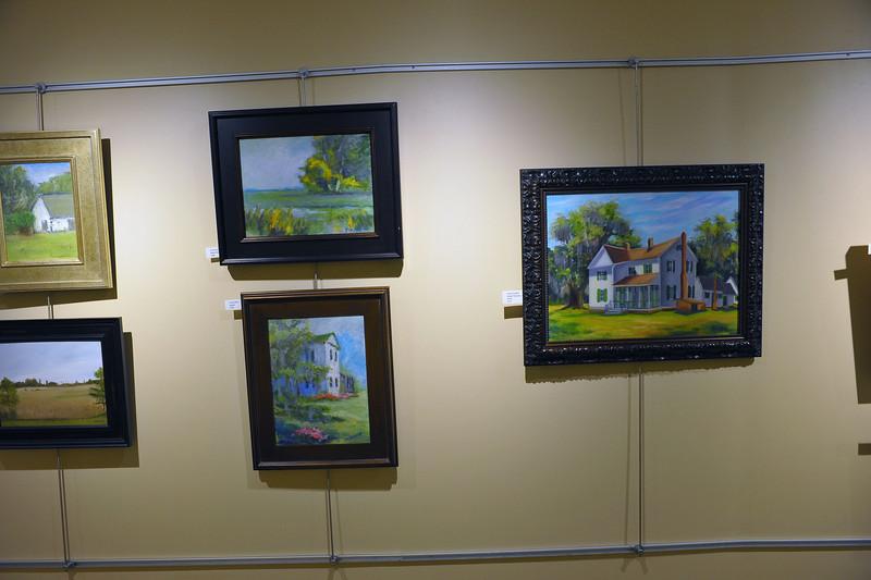Hofwyl 2nd Annual Plein Air Exhibit at Southeast Health System Hospital Horton Gallery 04-23-14