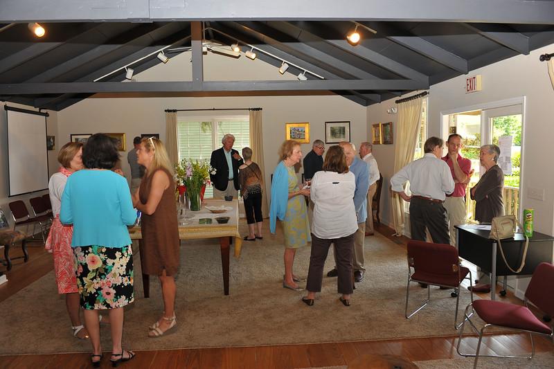 Hofwyl 2nd Annual Plein Air Event Exhibit at The Saint Simons Land Trust 05-18-14