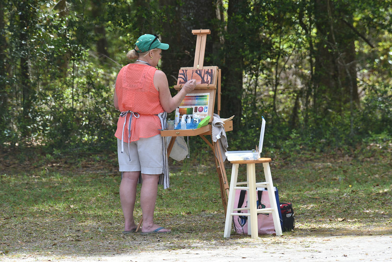 Hofwyl - Pre-Plein Air Workshop by George Netherton 04-06-18