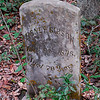 NOTICE DATE ON THIS MARKER - 1826-1896 Graveyards along Petersville Road in Glynn County, Georgia attributed to Hofwyl Plantation Slaves and to the Petersville Community near US17 and State Road 99 - on old Hofwyl Plantation Property - graves begin during the slave days and continues through today