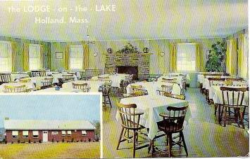 Holland Lodge on Lake Dining Rm