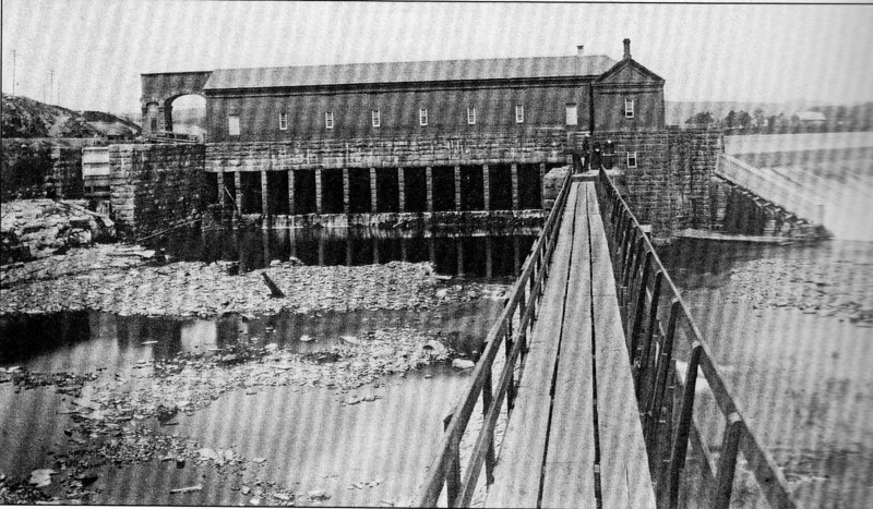 Holyoke 1880's Gatehouse