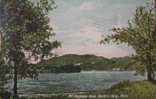 Holyoke Mt Holyoke from Smith's Ferry