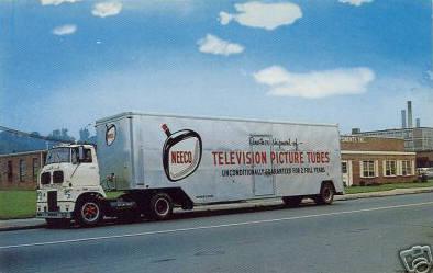 Holyoke Semi carring Television Tubes