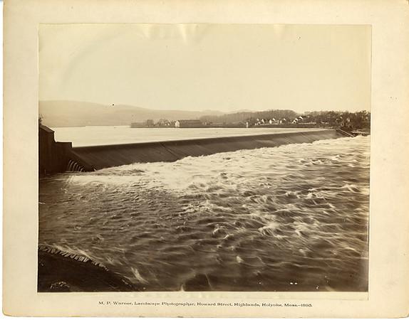 Holyoke Wooden Dam from Howard St