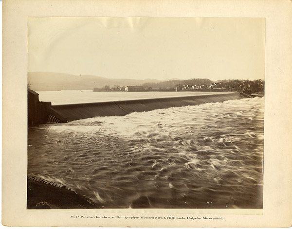 Holyoke Wooden Dam from Howard St