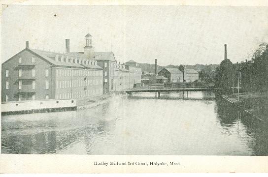Holyoke Hadley Mill 3rd Canal