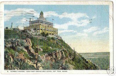 Holyoke Summit House 1300 Feet up