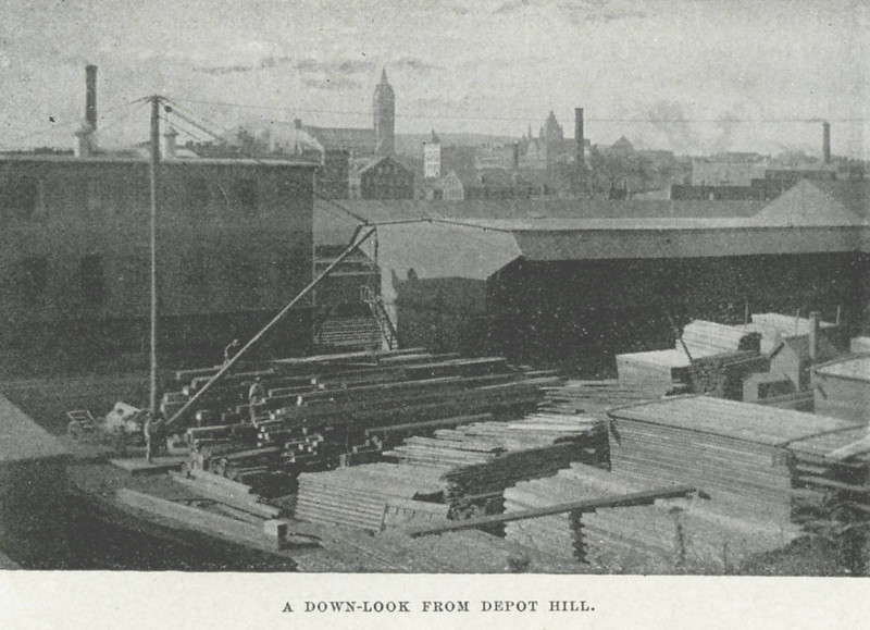 Holyoke Down from Depot Hill