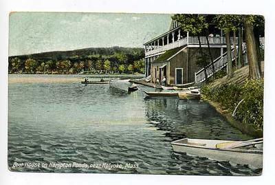 Holyoke Boat House Hampden Ponds