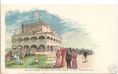 Holyoke Mt Tom 1898 Summit House