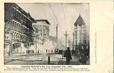 Holyoke's Big Fire 1906