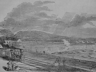 Holyoke 1851 Dam View