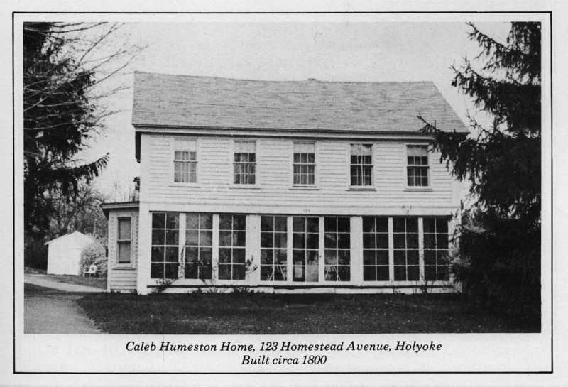 Holyoke Caleb Humeston Home c1800